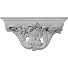 "<strong>Ekena Millwork</strong> Hillsborough 6.63"" H x 13.13"" W x 3.75"" D Decorative Shelf"