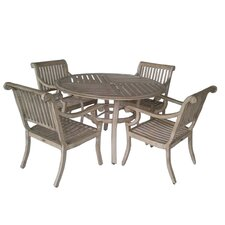 <strong>PatioSense</strong> 5 Piece Patio Dining Set