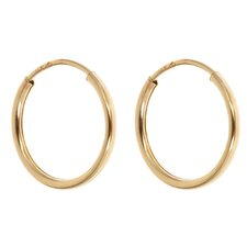 <strong>Sasson Jewelry</strong> Children's Endless Hoop Earrings