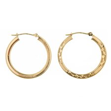<strong>Sasson Jewelry</strong> Reversible Hoop Earrings