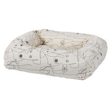 Rectangular Donut Dog Bed