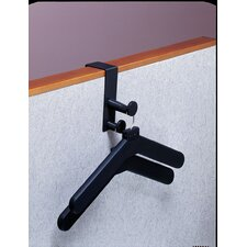 Over Panel Coat Hook with 2 Hangers