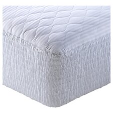 100% Pima Cotton Stripe Five Zone Mattress Pad
