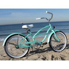 "Girl's 20"" Beach Cruiser Bicycle"