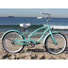 "Girl's 20"" Urban Beach Cruiser Bicycle"