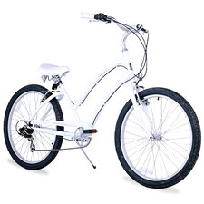 Women's CA-520 7-Speed Beach Cruiser Bike