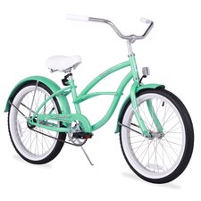 "<strong>Beachbikes</strong> Girl's 20"" Urban Beach Cruiser Bicycle"