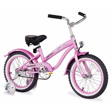 "Girl's 16"" Mini Bella Beach Cruiser Bicycle"