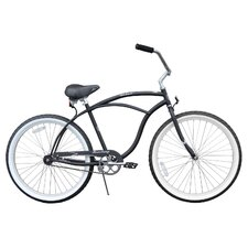 <strong>Beachbikes</strong> Men's Urban Man Classic Beach Cruiser Bike