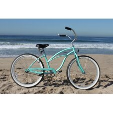 "<strong>Beachbikes</strong> Girl's Urban Lady 24"" Beach Cruiser Bike"