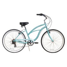 Women's Urban Lady 7 Speed Beach Cruiser Bike