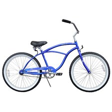 "Boy's Urban Man 24"" Beach Cruiser Bike"