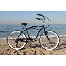 <strong>Beachbikes</strong> Men's Urban Man 7 Speed Beach Cruiser Bike