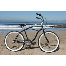 Men's Urban Man 3 Speed Beach Cruiser Bike