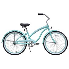"Girl's 24"" Bella Classic Beach Cruiser Bike"