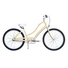 Women's CA-520 3-Speed Beach Cruiser Bike