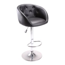 "24.5"" Adjustable Swivel Bar Stool with Cushion"