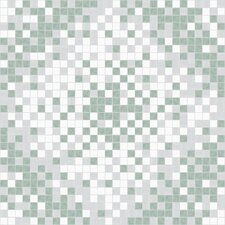 Urban Essentials Scatter Mosaic Pattern Tile in Placid Turquoise