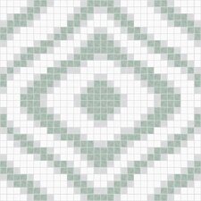 Urban Essentials Groovy Mosaic Pattern Tile in Placid Turquoise