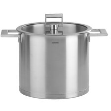 Strate Fixed Handle Stock Pot with Lid