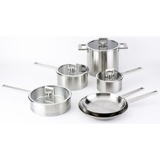 <strong>Cristel</strong> Strate Fixed Handle 10-Piece Cookware Set