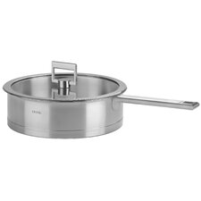 <strong>Cristel</strong> Strate Fixed Handle Saute Pan with Lid
