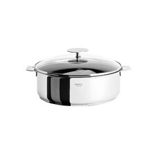 Casteline Saute Pan with Lid and Optional Handle