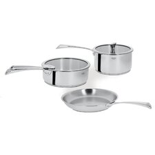 <strong>Cristel</strong> Casteline Fixed Handle 5-Piece Cookware Set