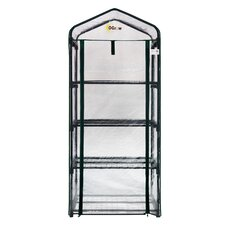 "Ultra-Deluxe 4 Tier 27"" W x 19"" D Portable Bloomhouse"