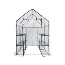 "Deluxe Walk-In 6 Tier 56"" x 56"" Portable Greenhouse"