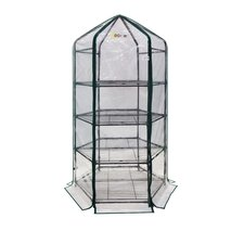 "Ultra-Deluxe 4 Tier 20"" x 20"" D Hexagonal Flower Planthouse"