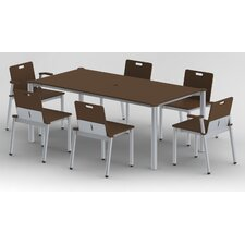 <strong>Elan Furniture</strong> Bridge II 7 Piece Dining Set