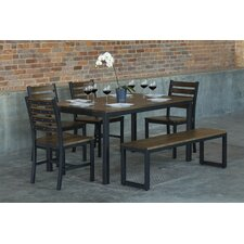 Loft  6 Piece Dining Set