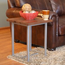 "Port End Table 18""x18"""