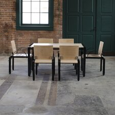 "Bridge 56""x34"" Six Person Dining Set"