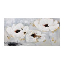 Flowers Painting Print on Canvas
