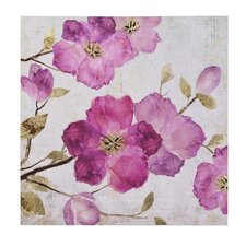 Floral Painting Print on Canvas