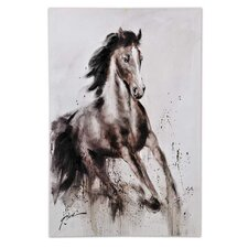 Horse Painting Print on Canvas