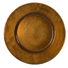 "Antique 13"" Charger Plate"