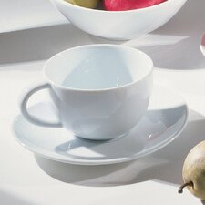 Royal Oval 10 oz. Teacup and Saucer