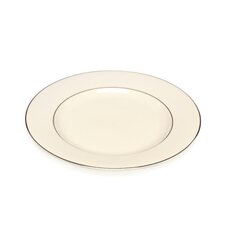 "<strong>Ten Strawberry Street</strong> Cream Double Gold 10.25"" Dinner Plate"