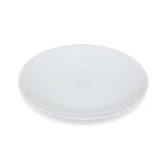 "<strong>Ten Strawberry Street</strong> Royal Coupe White Oversized 8"" Salad Plate"
