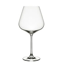Hong Kong Hip Burgundy Wine Glass