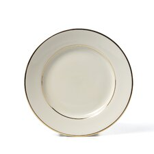 "Cream Double Gold 6"" Bread and Butter Plate"