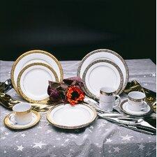 Paradise 8 oz. Teacup and Saucer (Set of 6)