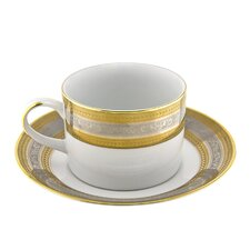 Elegance 8 oz. Teacup and Saucer