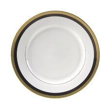 "<strong>Ten Strawberry Street</strong> Sahara Black 10.625"" Dinner Plate"