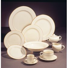 <strong>Ten Strawberry Street</strong> Cream Double Gold Dinnerware Set