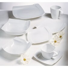 <strong>Ten Strawberry Street</strong> Nouve Square Dinnerware Set