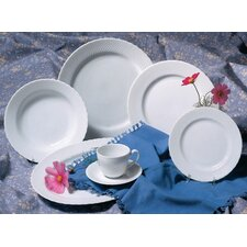 Wicker Dinnerware Set